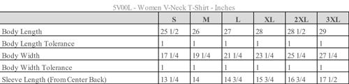 Women's V-Neck