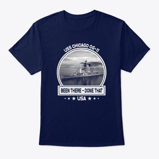 Uss Chicago Cg-11 t-shirt