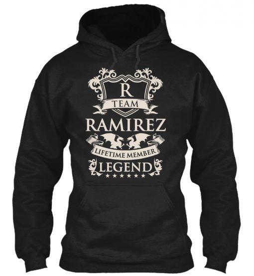 Team Ramirez Name Legend Family t-shirt